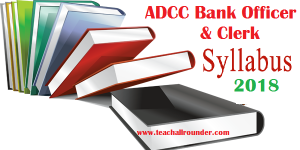 ADCC Bank syllabus 2018