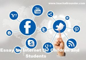 Essay on Internet for Children and Students