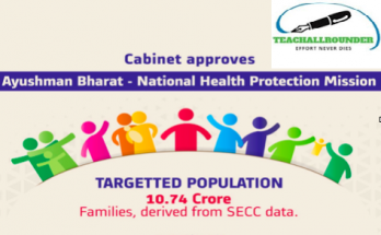 Ayushman Bharat – National Health Protection Mission