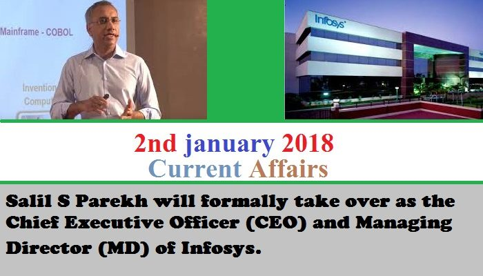 2nd january 2018 current affairs