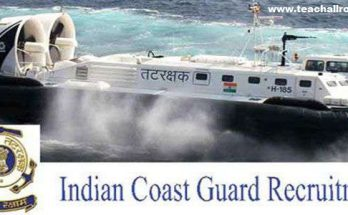 Indian Coast Guard Navik Recruitment 2018