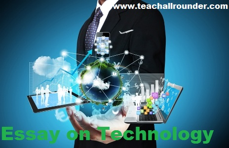 Essay on Technology forKids and Students (2)