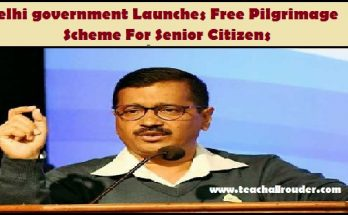 Delhi government Launches Free Pilgrimage Scheme For Senior Citizens